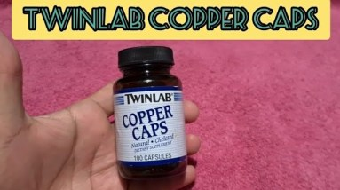 TWINLAB Copper Supplement (Anemic Fighter)