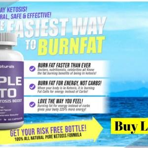 Triple Keto | Triple Naturals Keto | 3 Naturals Triple Keto *Update 2021* Advanced Weight Loss Pills