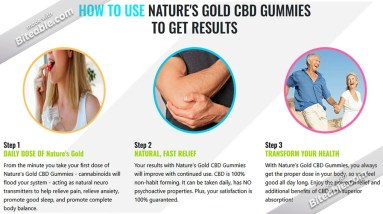 Nature's Gold CBD Gummies®