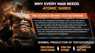 Atomic Shred Testo Booster - Reviews! 2021