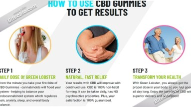 Green Lobster CBD Neon Cubes (Reviews) - Read Benefits & Use!