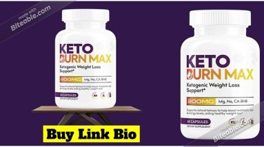 Keto Burn Max (Reviews) - NATURAL INGREDIENTS & SIDE EFFECTS!