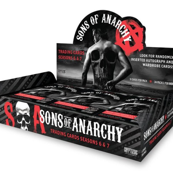Cryptozoic Sons Of Anarchy Seasons 6-7 Hobby Box