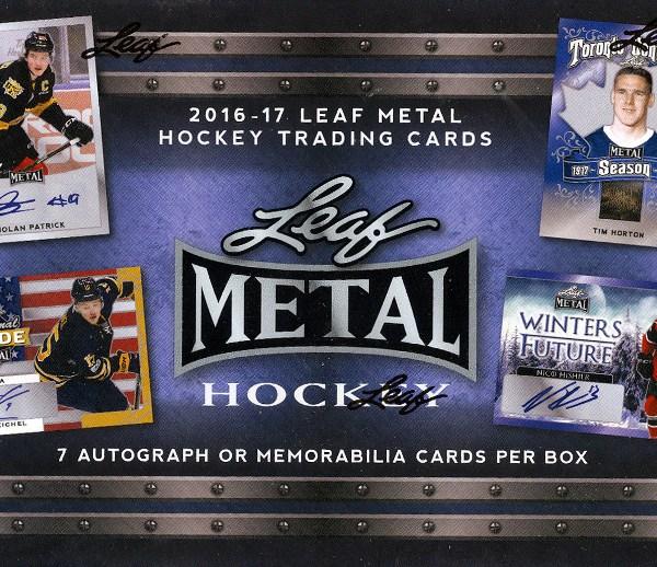 2016-17 Leaf Metal Hockey Box