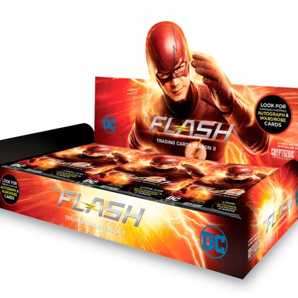 Cryptozoic The Flash Season 2 Trading Cards Hobby Box