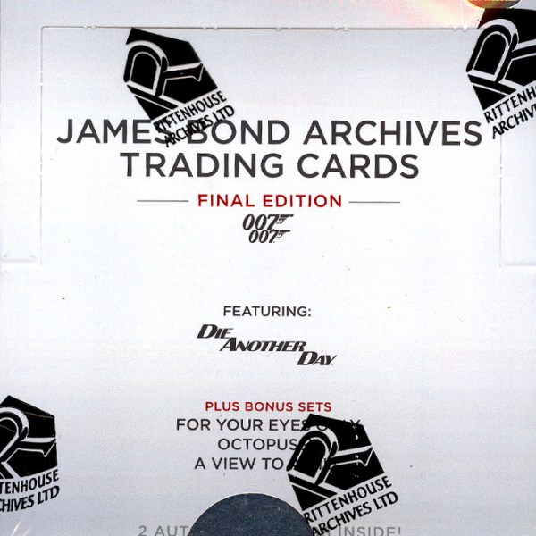 Rittenhouse 2017 James Bond Archives Final Edition Hobby Box
