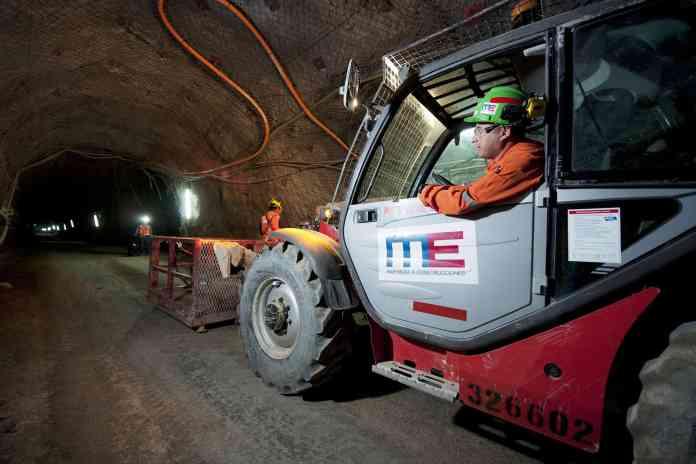 minería subterránea codelco