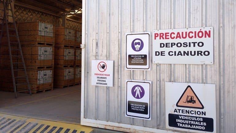 El cianuro puede ser letal si no se toman precauciones en su empleo