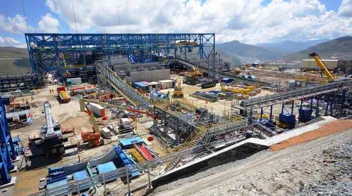 #2. MINERA LAS BAMBAS. La compañía, administrada por un consorcio de propiedad de MMG, destinó más de US$1.414 millones entre enero y noviembre, un retroceso de 1,3% interanual. La mina Las Bambas posee reservas de 6,9 millones de toneladas de cobre. Se espera que produzca más de 2 millones de toneladas de cobre en concentrado en sus primeros cinco años. (Foto: Divulgación)