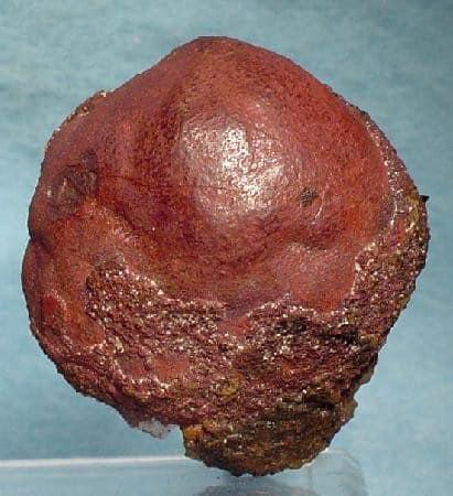 Cinabrio rojo globular