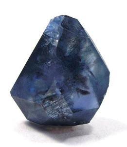 Cristal de benitoita individual