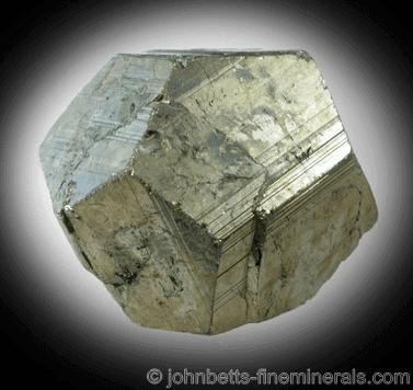 Piritoedro Pirita