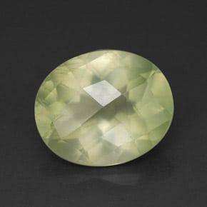 Prehnita transparente verde claro