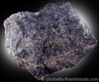 Sodalita azul violeta