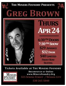 2014 04 GREG BROWN Poster