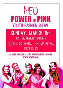 NEO Fashion Show Poster