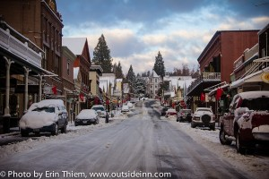 Nevada City Winter 2