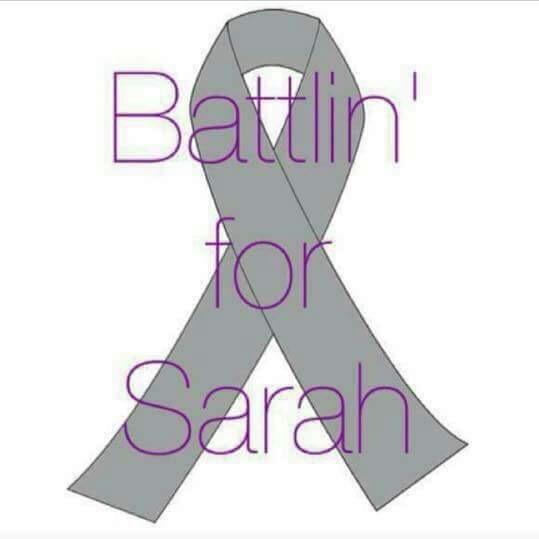 """Battlin' For Sarah"" Facebook Campaign Image"