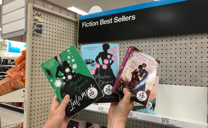 Minerva Spencer books for sale in Target