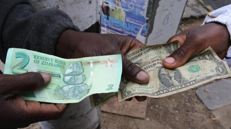 Zimbabwe banned the US dollar from being used so local bitcoin demand is soaring again