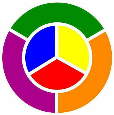 Here Are The Primary And Secondary Colors