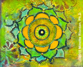 Vivid Dream Mandala Painting