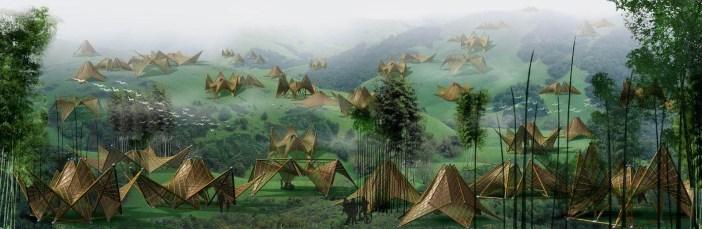 Folded_Bamboo_House