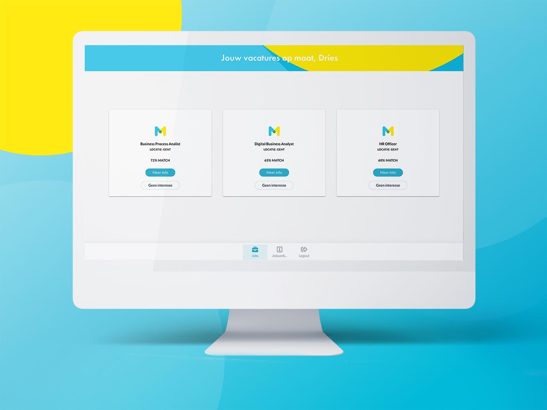 voorgestelde vacatures desktop