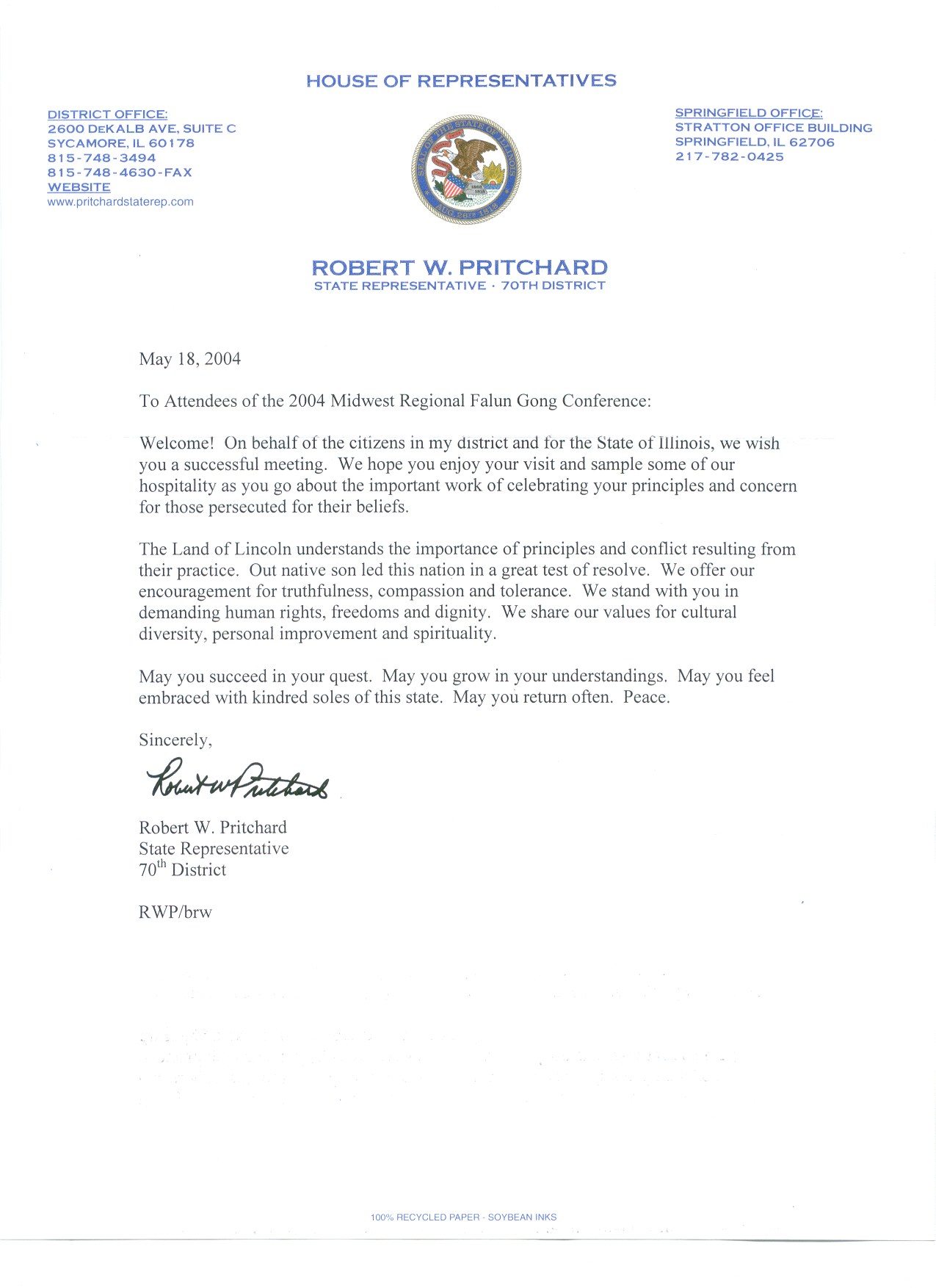 Find this pin and more on what congress says about us by national several us congressmen and senators write congratulatory letters to the mid falun dafa experience sharing conference spiritdancerdesigns Choice Image