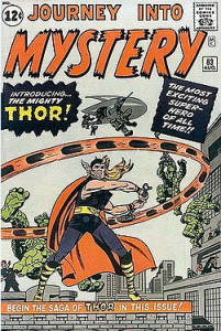 Journey Into Mystery Thor Issue #83 August 1962