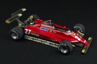 1982 Ferrari 126C2 USA West G.P. #27 - Gilles Villeneuve