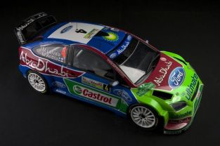 Ford Focu RS WRC 2010 Rally Bulgaria