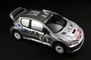 Peugeot 206 WRC 2000 Safari Rally