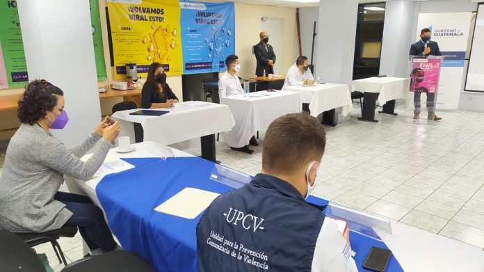 Personal de UPCV se capacita en temas de prevención para evitar el consumo  de drogas - Ministerio de Gobernación