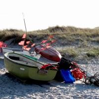Fischerboote auf dem Darss