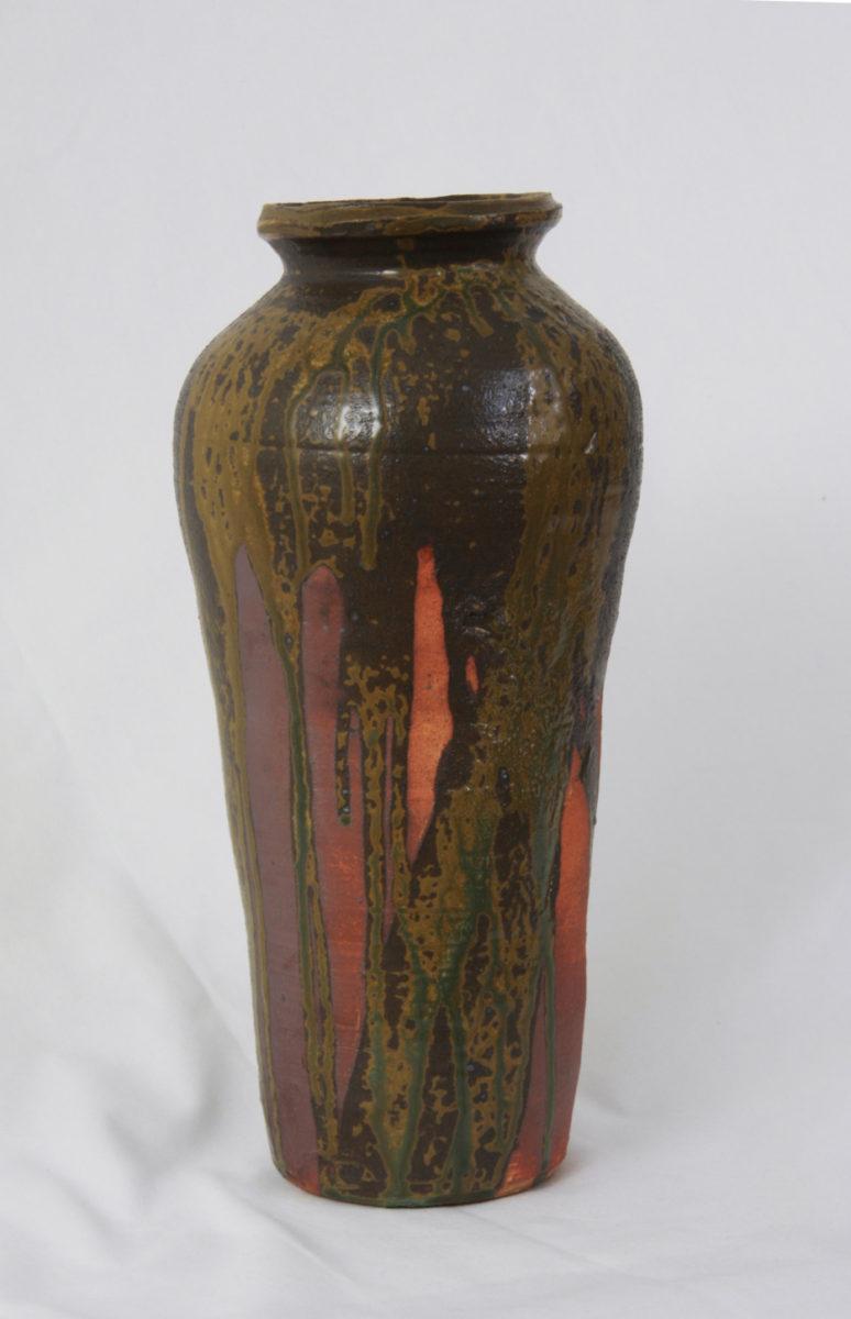 Stoneware, noborigama, glaze