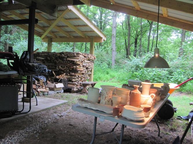 July 2013 wood fire @ Warwick, NY