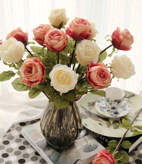 Resultado de imagem para flores artificiais na decoração