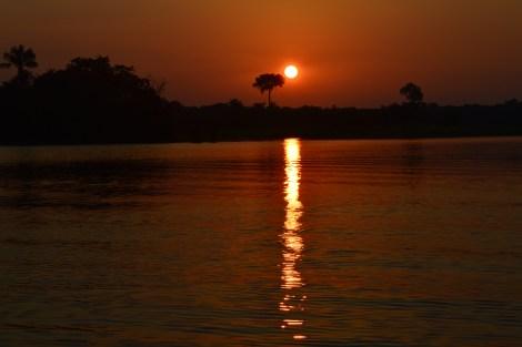 Pôr do Sol, Amazônia, 2014, por LP