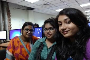 Sabrina, Maliha and Zarin