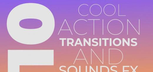 Cool Action Transitions 73199 Free Premiere Pro Templates