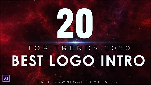 20 Free Best Logo Intro Trends for Adobe After Effects Templates Part 28