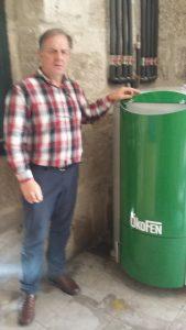 Caldeira Biomasa