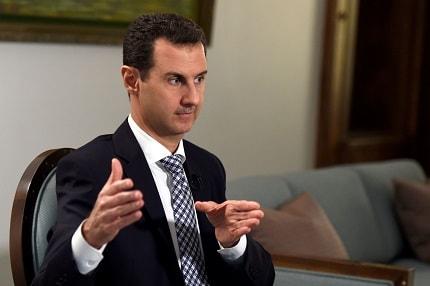 presidente Bashar al-Assad