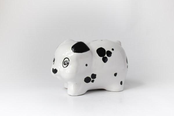 Handmade ceramic piggybank