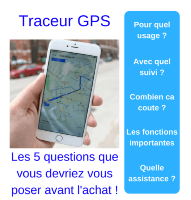 Guide d'Achat traceur GPS