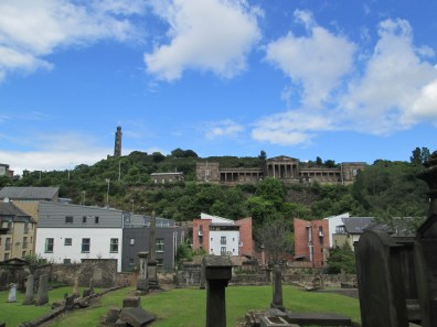 Calton Hill from the bottom