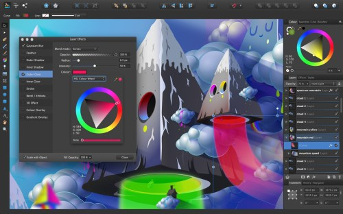 Affinity Designer screenshot