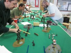 The 4 tables of fury (and focus)!
