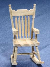 Rocking Chairs Miniature Cottage Dollhouse Miniatures